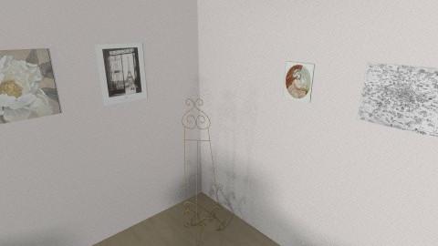 Painting Corner - Vintage - Bedroom  - by mlesnick12