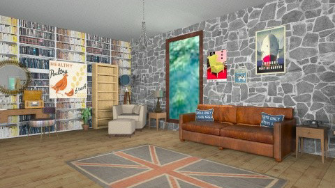 living room  - Vintage - Living room  - by bethany81