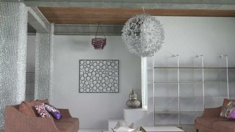 eclectic loft - Eclectic - Living room  - by toadfool