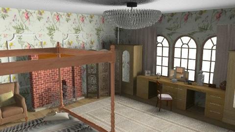 Vintage bedroom - Vintage - Bedroom  - by Anna_m