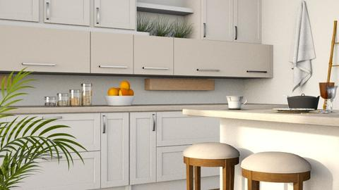 Sandy II - Modern - Kitchen  - by millerfam