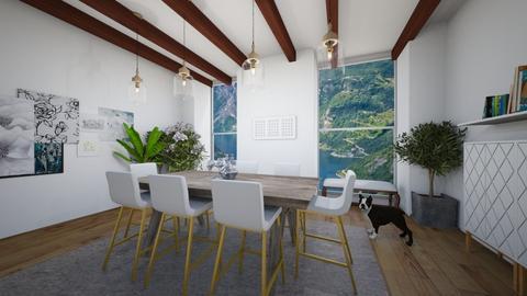 Scandinavian Dining Room - Dining room  - by ZoeyMatt
