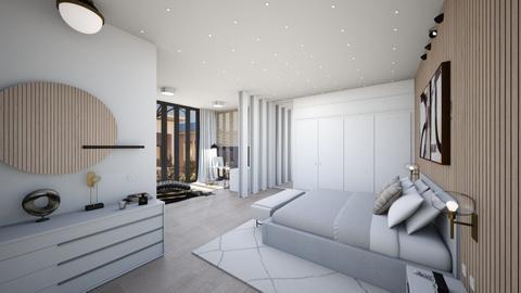 DeanAA_1 - Modern - Bedroom  - by Genevive_C907
