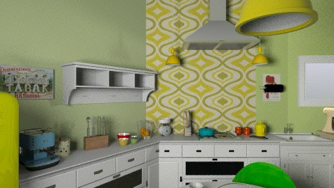 kik - Vintage - Kitchen  - by carlita