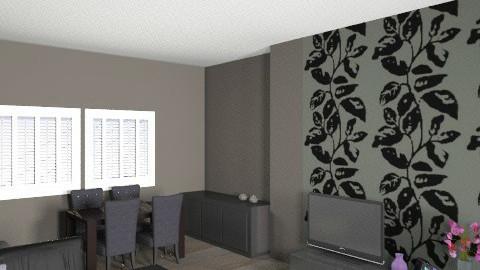 a4 - Modern - Living room  - by NicInc