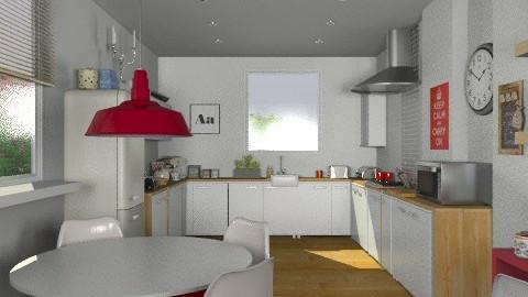 MyKitchen (2) - Modern - Kitchen - by camilla_saurus