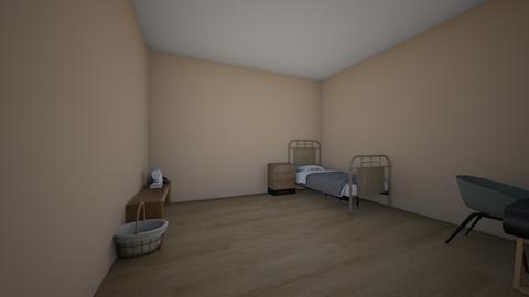 meu primeiro quartp - Modern - Bedroom  - by julia ledson