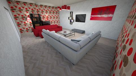Bold Living room  - Vintage - Living room  - by ChocoRB