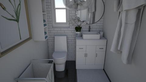 Artsy toilet - Bathroom  - by kristenaK