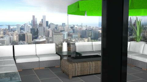 Cherie view revised sectional - Modern - Garden  - by rowec