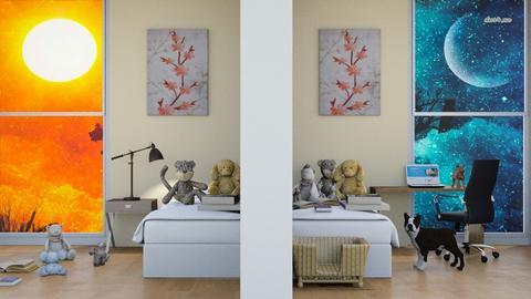 Before_After_Jahsoftball - Bedroom  - by Jahsoftball_