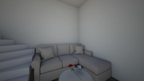 a living room - Modern - Living room  - by mazenhamada