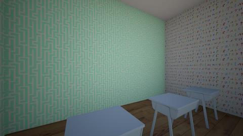 school classroom - Kids room  - by ZhanatTS