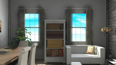 lr300412 - Eclectic - Living room - by Elena Green