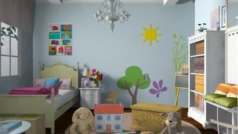 Bedroom - Kids room  - by laruue