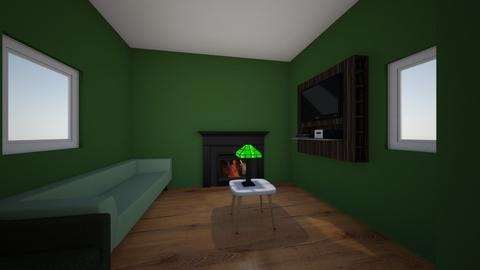 green - Living room  - by HelloHowAreYou