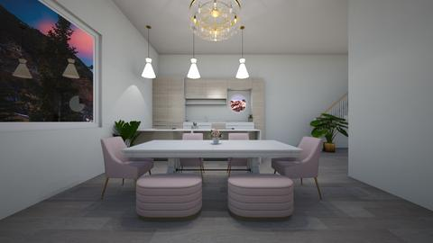Scandinavian dining - Dining room  - by Idkwhy