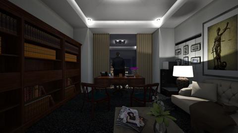 McGraw Byrne Nighttime - Office  - by SammyJPili