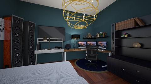 Gaming Room - Bedroom  - by Cardenas_K