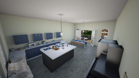 WB Kitchen - Kitchen  - by emivim