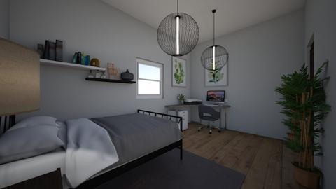 bedroom - Modern - Bedroom  - by normens