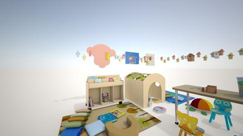 Kinderhoek Winkel - Kids room  - by Sijberts