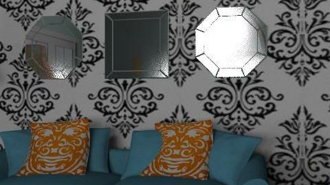 Elysian Fields - Retro - Living room  - by purplefan5