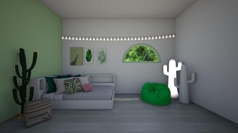 Cactus Bedroom - Bedroom  - by BaylorBear