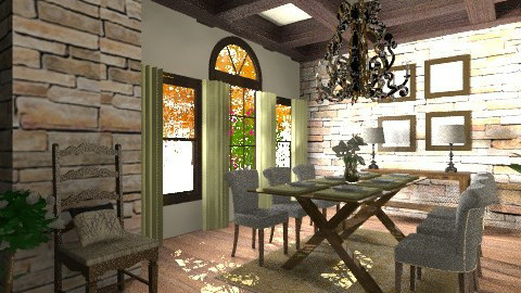 My Dining Room - Classic - Dining room  - by Baustin