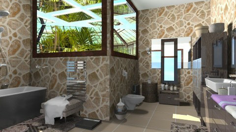 Maria_Julia idea - Modern - Bathroom  - by milyca8