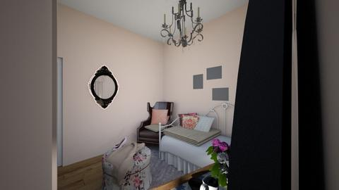 My room - Vintage - Bedroom  - by FoolishAlicia