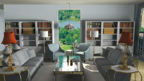 City Living - Glamour - Living room  - by angelicucu