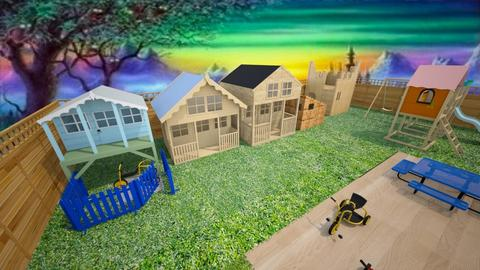 outside play part 8 - Kids room  - by Amyz625
