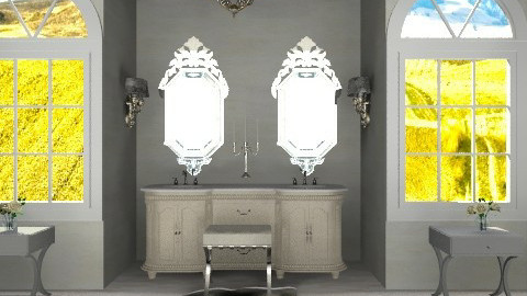 Elegant Vanity - Classic - Bathroom  - by Baustin