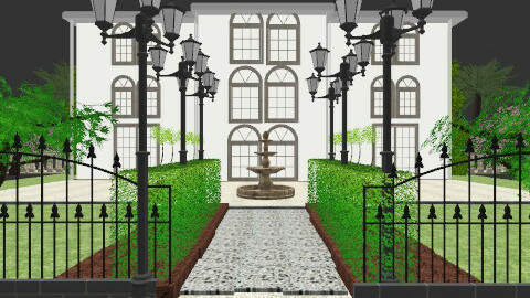 Symmetry - Classic - Garden  - by PomBom
