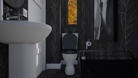 Well sh_t - Modern - Bathroom  - by HenkRetro1960