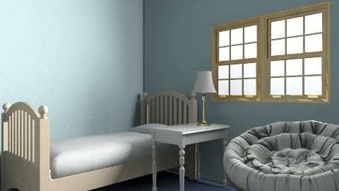 Adam's room - Eclectic - Bedroom  - by svestdonley