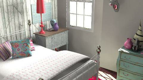 Morshead Mansions FINALbudget1 - Eclectic - Bedroom - by pia