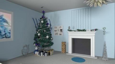 Christmas - Living room - by Myoriginality