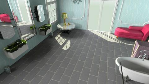 bath - Glamour - Bathroom  - by ankyspanky