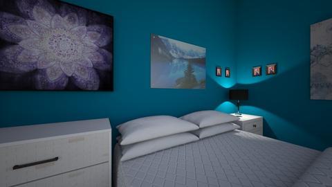 bedroom layout - Bedroom  - by GraceDopf