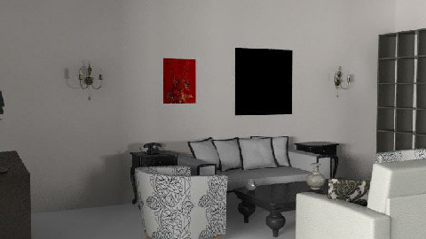 My Room of the hell 5 - Dining Room  - by Esnach