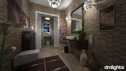 powder room - Classic - Bathroom  - by DMLights-user-981898