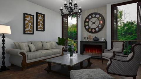 Clockwise - Classic - Living room  - by Veny Mully