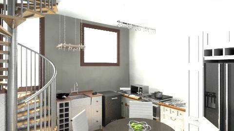 Kitchen n Master - Modern - Kitchen - by IamMarin94
