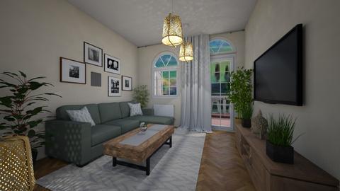 toscana living - Living room - by AfroditeGoldie