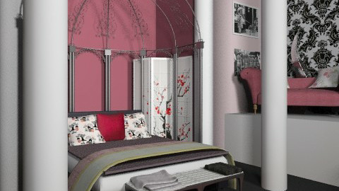 bedr - Vintage - Bedroom  - by misscaro