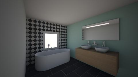 Salle de bain A D - Bathroom - by aurelie59320