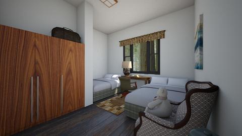 Retreat Center 2 - Bedroom  - by SammyJPili