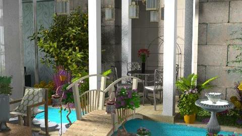 garden inside - Modern - Garden - by dominicjames